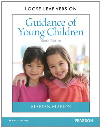 Guidance of Young Children, Loose-Leaf Version (9th Edition)