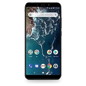 Xiaomi Mi A2 64GB + 4GB RAM, Dual Camera, LTE AndroidOne Smartphone – International Global Version (Black)