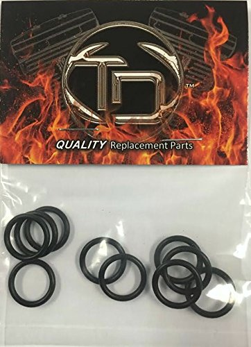 11105 Harley Buell Drain Plug O Ring Replacements Harley Replacement 10 Pack