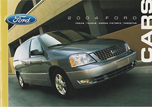 - 2004 Ford Cars Sales Brochure including Focus, Taurus, Crown Victoria, Freestar