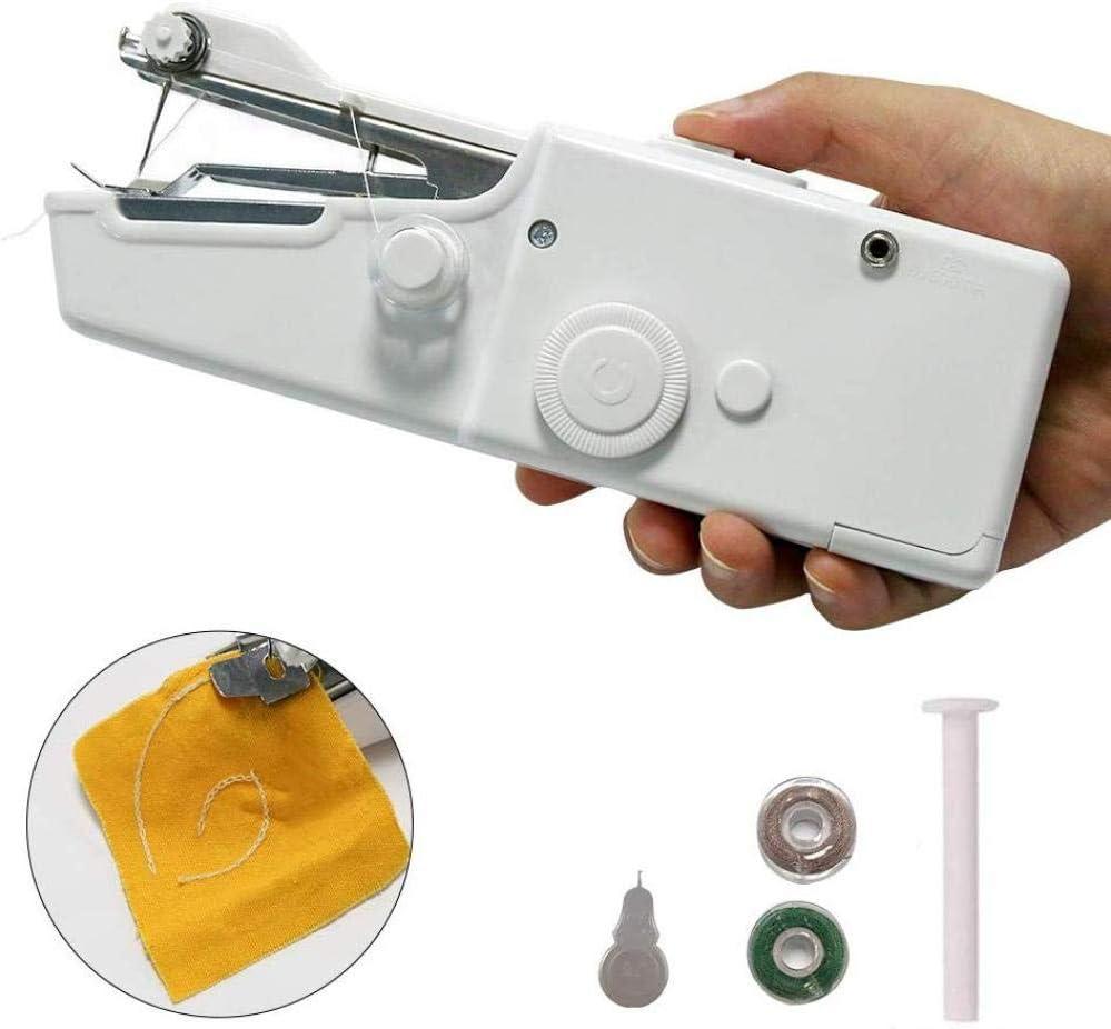 Yuaer Máquina de coser portátil, costuras inalámbricas ...