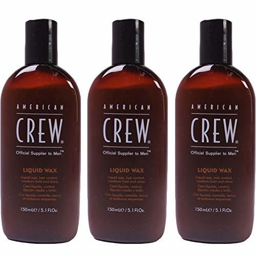 Price comparison product image Liquid Wax 5.1 oz (150 ml) by American Crew (Pack of 3)