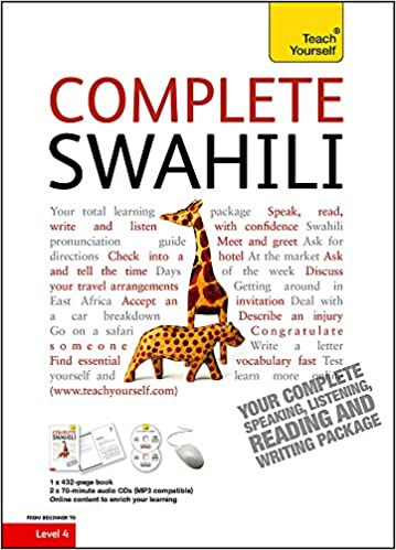 Complete Swahili Book/CD Pack: Teach Yourself Teach Yourself ...