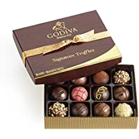 12 Piece Godiva Chocolatier Signature Chocolate Truffles Gift Box