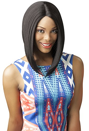 New Born Free Synthetic Lace Front Wig Curved Part Magic Lace Mlc159 COLOR Number: (Discounted Wigs)