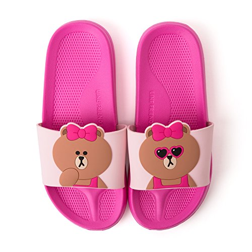 Linea Amici Womens Choco Slipper Us 7 Pink