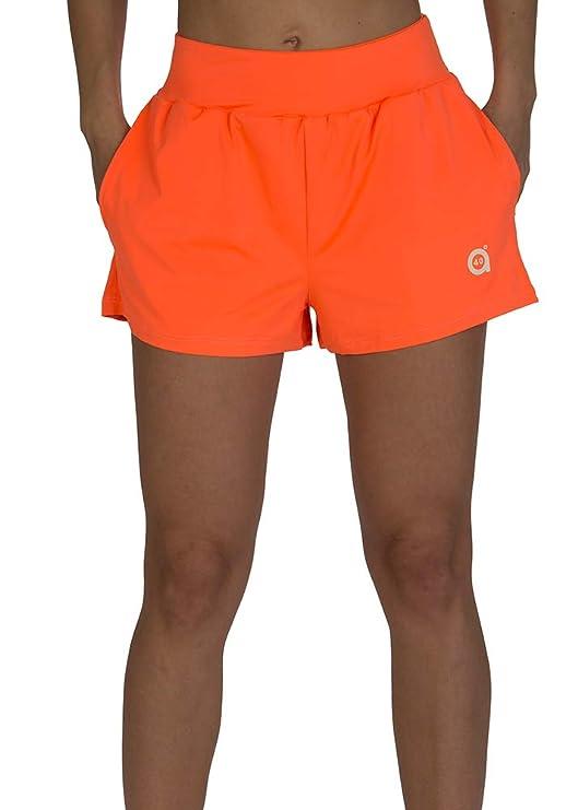a40grados Sport & Style, Short Shuly Naranja, Mujer, Tenis y Padel ...