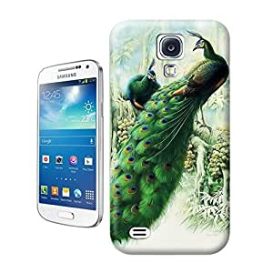 Unique Phone Case Peacock and Phoenix-04 Hard Cover for samsung galaxy s4 cases-buythecase