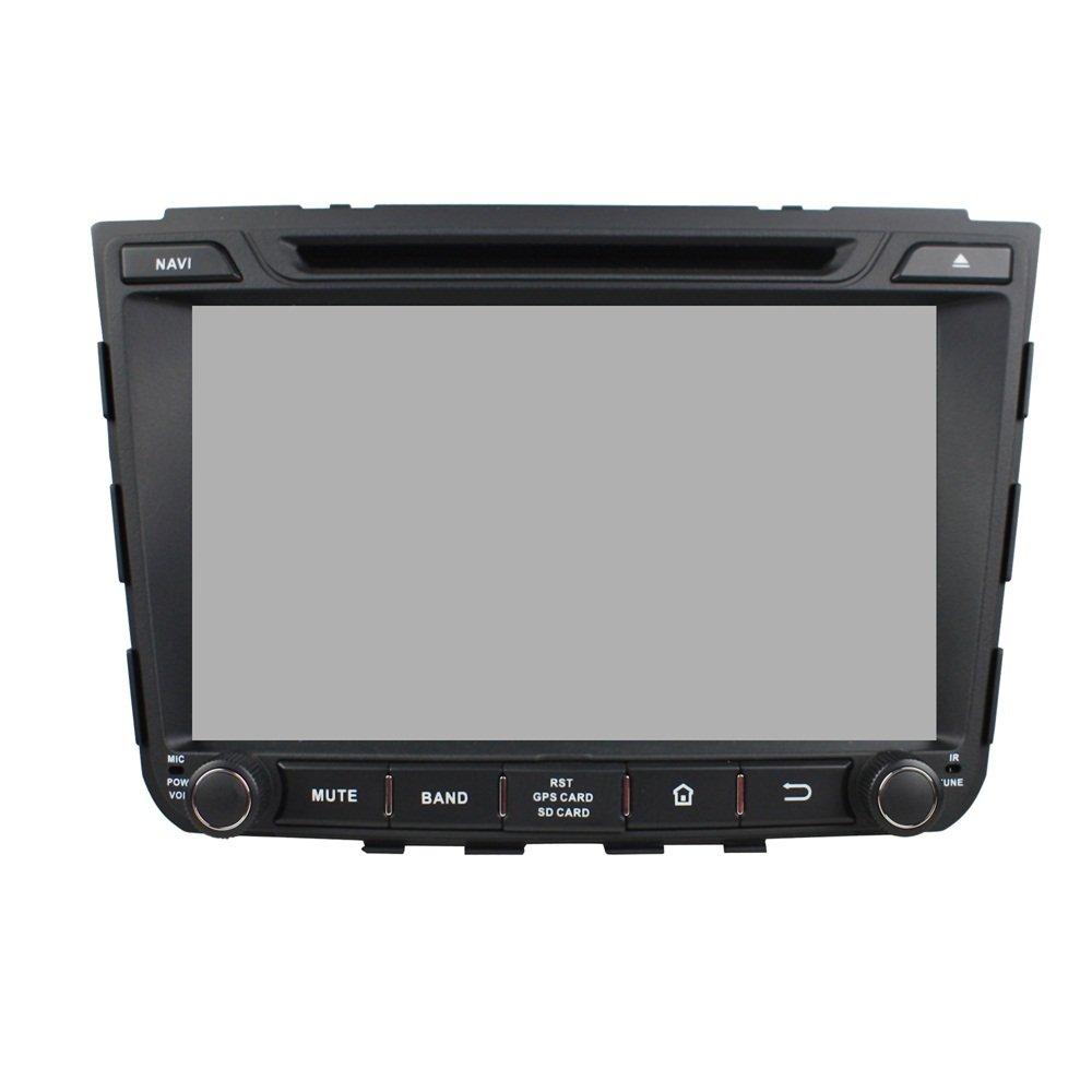 Android 6.0 Octa Core 1024 * 600 coche reproductor de DVD GPS navegación Multimedia estéreo de coche para Hyundai ix25 2014 2015 Radio Control de volante ...