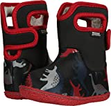 Bogs Baby Bogs Waterproof Insulated Toddler/Kids Rain Boots for Boys and Girls, Dino Print/Black/Multi, 5 M US Toddler