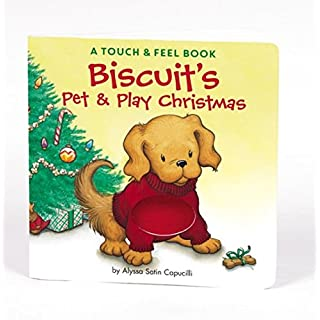 Biscuit christmas board book do it yourselfore biscuits pet play christmas a touch feel book solutioingenieria Image collections