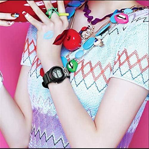 ファッショントレンドスポーツウォッチ/多機能電子時計/カップル子供用腕時計 ホワイト