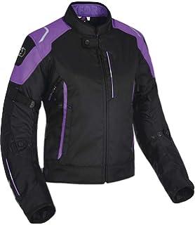 Black//Fluo Oxford Metro Mens Waterproof Textile Motorcycle Bike Jacket