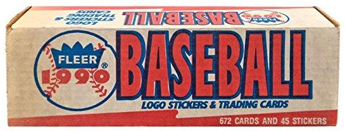 ScotchBlue MLB 1990 Baseball Cards Complete Set [Factory Sealed]