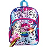 """My Little Pony Galaxy Girl 16"""" Backpack with Hair"""