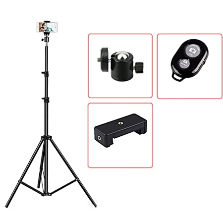WEISHAZI Soporte de trípode extensible para selfies, vídeo ...
