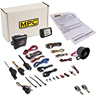 Complete Remote Start Kit With Keyless Entry & Alarm Combo For 2011-2014 Lincoln Navigator - Includes Data Module