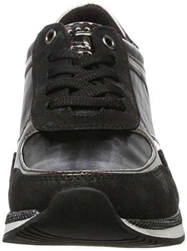 Marco Tozzi 23710, Zapatillas para Mujer Negro (Black Comb)