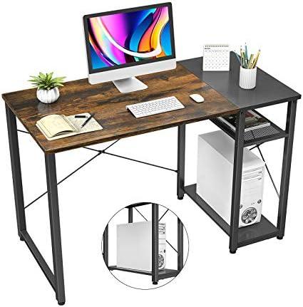 Homfio Industrial Computer Desk