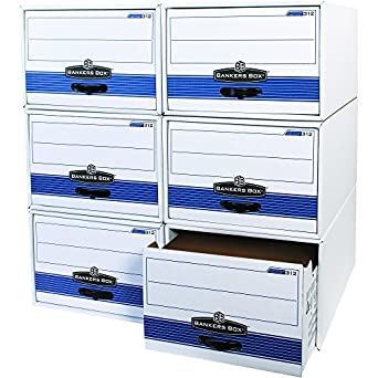 Bankers Box FSB720 Store/Drawer Steel Plus File Storage Drawers, 24u0026quot; X  15u0026quot