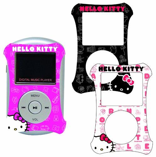 Sakar 50009 - Hello Kitty 2GB MP3-Player mit 3 Planscheiben