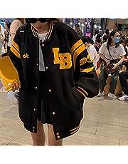UKKO Hoodie Plus Size Korean Fashion Clothes Cool Sweatshirt Women Oversized Hoodies Zip Up Tops Casual Jacket-B,Xxl