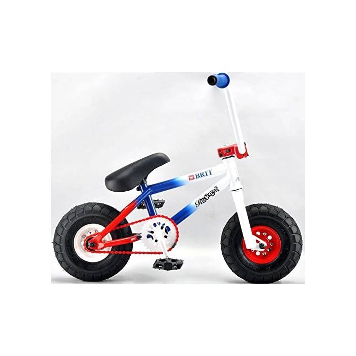 Rocker Mini BMX I-ROK+ – Minibicicleta  y pegatinas y pulsera Fantc26