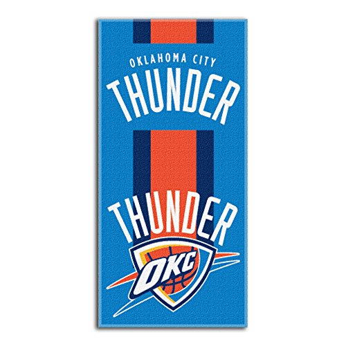 Northwest NBA Oklahoma City Thunder Beach Towel, 30 X 60 - Beach City Shop