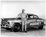 1952 Hudson Hornet Automobile Photo Poster Marshall Teague