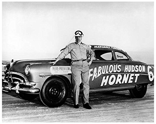 1952 Hudson Hornet Automobile Photo Poster Marshall Teague from AutoLit