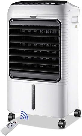 Axdwfd Ventilador de niebla industrial Enfriador de aire portátil, sistema de control remoto 4 en 1, humidificador, purificador de aire e ionizador, ventilador de enfriamiento, configuración de 3 velo: Amazon.es: Hogar