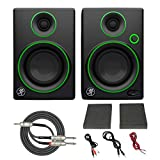 Mackie CR3 3' Creative Reference Multimedia Monitors (Pair) with Breakout Cable