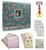 IDULL Scrapbook Kits 8x8 with Scrapbooking Starters Supplies for Girls