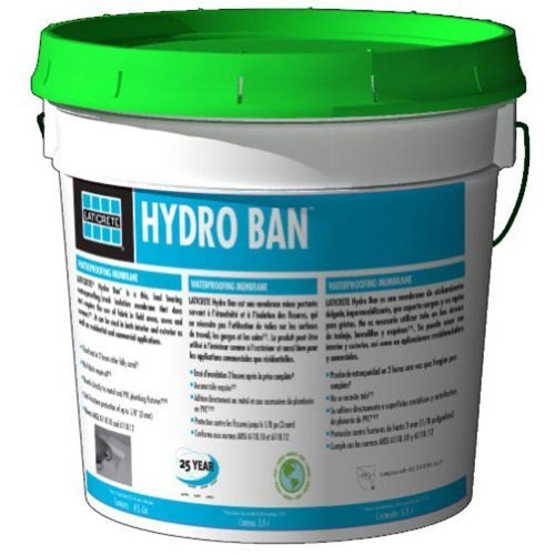 Laticrete Hydro Ban Mini Unit - 1 Gallon Pail (Screened Building In Cost Of Patio)