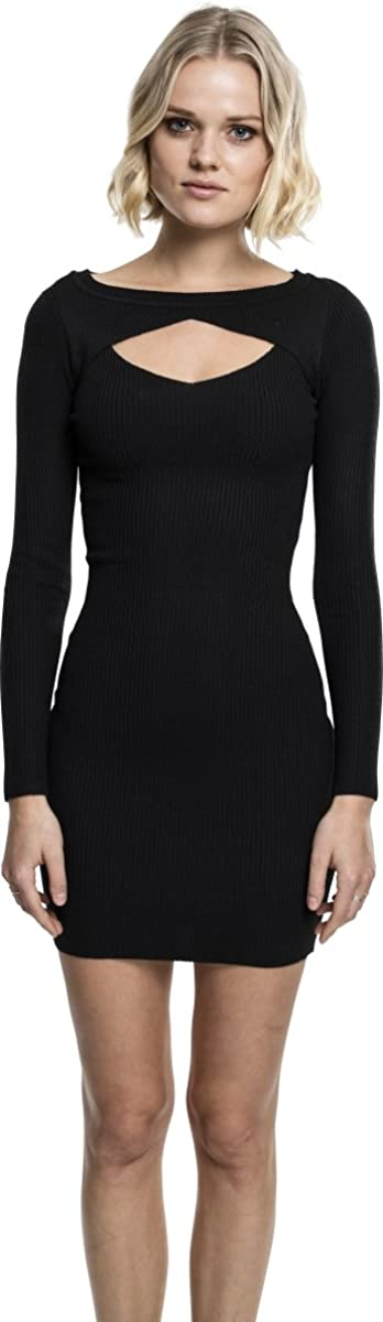 Urban Classics Ladies Cut out Dress Vestido para Mujer