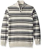 #2: Calvin Klein Boys' Halt Stripe Half-Zip Sweater