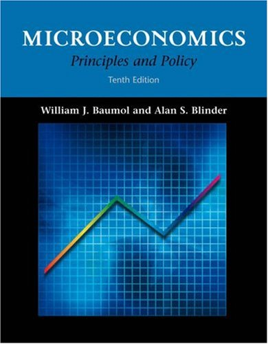 Microeconomics: Principles and Policy (with InfoTrac)