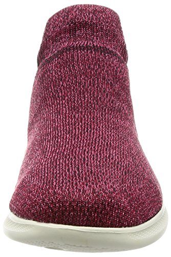 Mujer Step Go Entrenadores Skechers Para Lite Burgundy ultrasock w1YUqx6qT