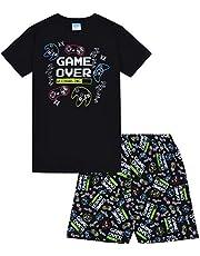 Game Over - Pijama Corto de algodón para niños