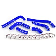 Silicone Coolant Radiator Hose Kit For Honda CRF450R CRF 450R 02-04 03 Blue