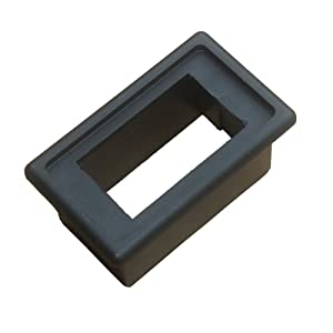 ESUPPORT Car Toggle Switch Bar Dash Board Switch Housing Kit Holder Black