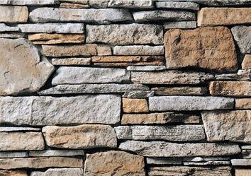 Cultured Manufactured Stone Veneer Wall Siding  Southern Ledge  Hennessey