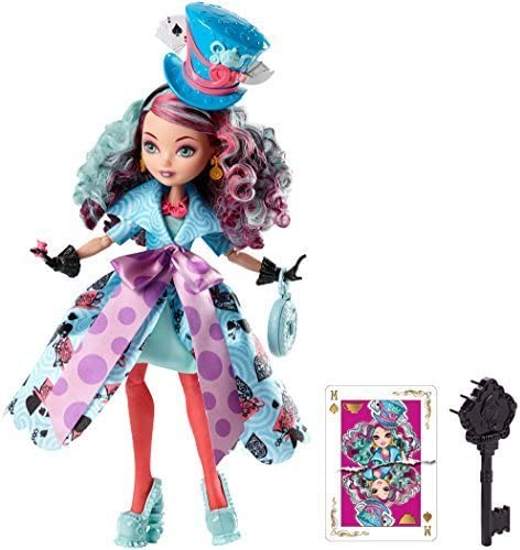 [ Ever After High ] Ever After High Way Too Wonderland Madeline Hatter Doll cjf40 [並行輸入品]