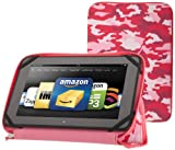 """PUNCHCASE By Leslie Hsu Ace Zip Around Standing Case, Pink Camouflage (Kindle Fire HD 8.9"""")"""