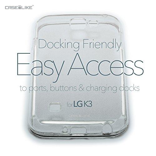 CASEiLIKE Funda LG X Power , Carcasa LG X Power, Cómic Títulos 2914, TPU Gel silicone protectora cover Arte de la mandala 2092