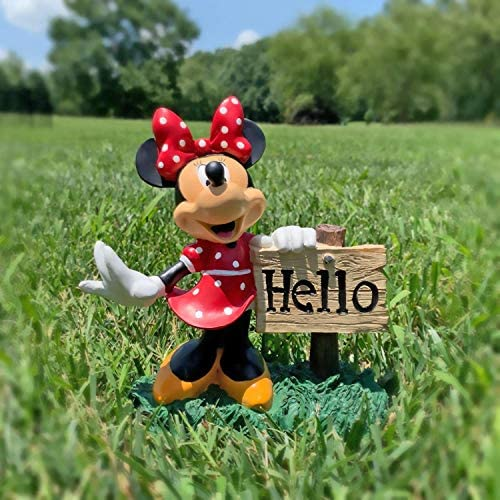 Minnie Mouse Hello Sign