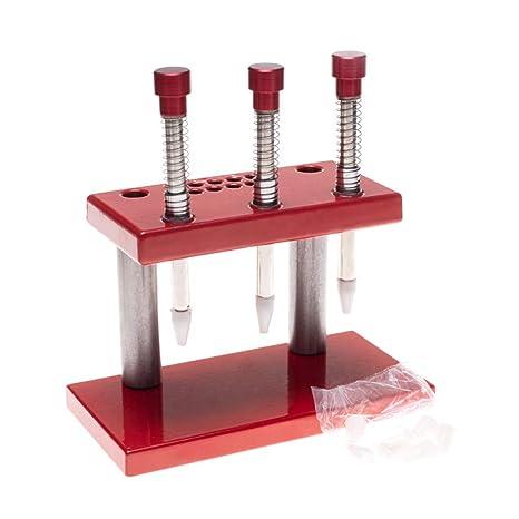 Herramienta de reparación de relojes, prensador de agujas, 3 ...
