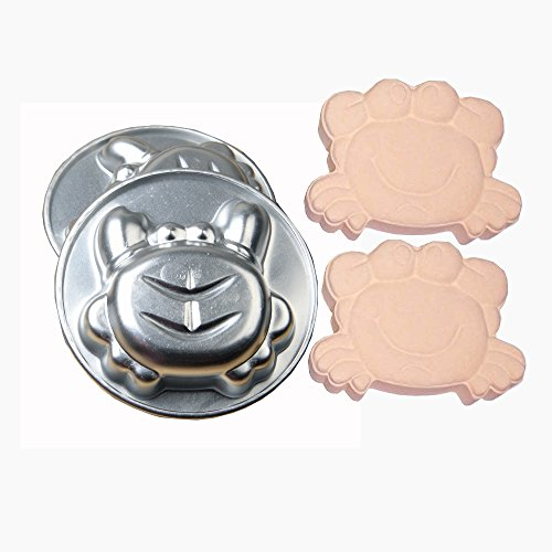 Creature Bath (Metal Bath Bomb Mold Making Child Bath Fizzy Sea Creature Crab 2 Pieces)