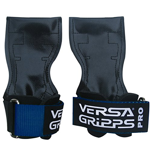 Versa Gripps PRO Authentic. The Best Training Accessory in the World. MADE IN THE USA (MED/LG-Blue) ()