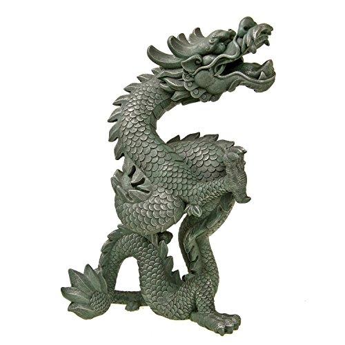 Blue Ribbon Oriental Dragon Exotic Environments Aquarium Ornament
